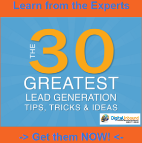 30 Greatest Lead Gen Tips from Digital Inbound